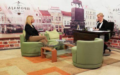 """Промоција активности на пројекту """"Клуб за запошљавање Рома"""" у јутарњем програму ТВ """"Зона Плус"""""""